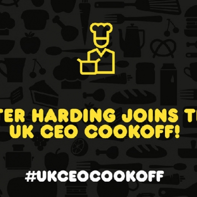 Peter Harding from Lucozade signs up to the CEO CookOff!